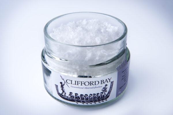 Meersalzflocken Clifford Bay 50 g im Schraubglas